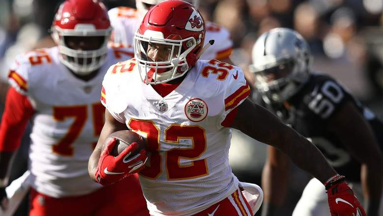 Spencer Ware Chiefs Raiders