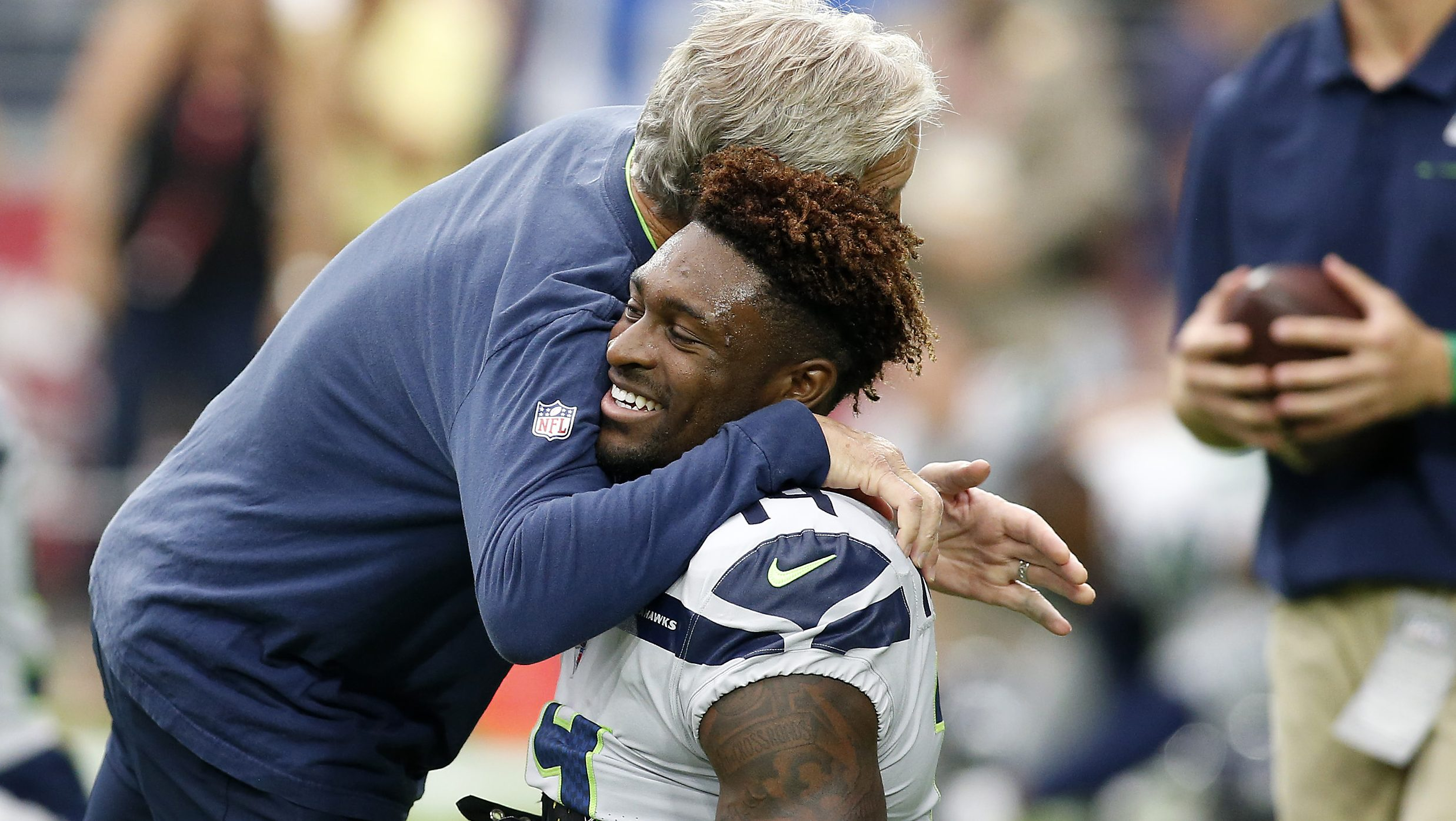Pete Carroll Gives DK Metcalf an Amazing Nickname With Hilarious Meme