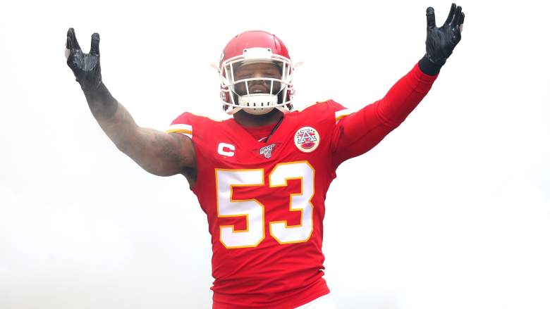 Anthony Hitchens Chiefs
