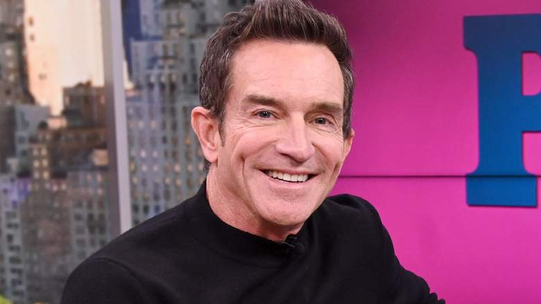Jeff Probst visits People Now on February 03, 2020 in New York City.