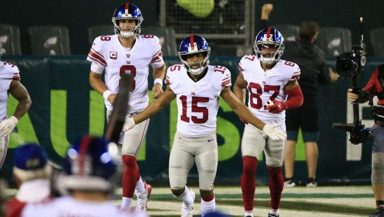 Golden Tate on being the Giants' emergency QB