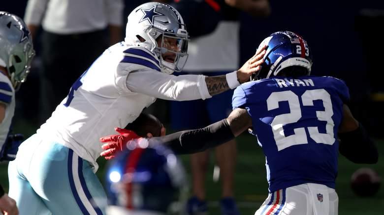 Dak Prescott vs. Giants
