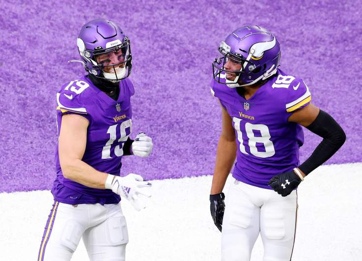 Adam Thielen and Justin Jefferson