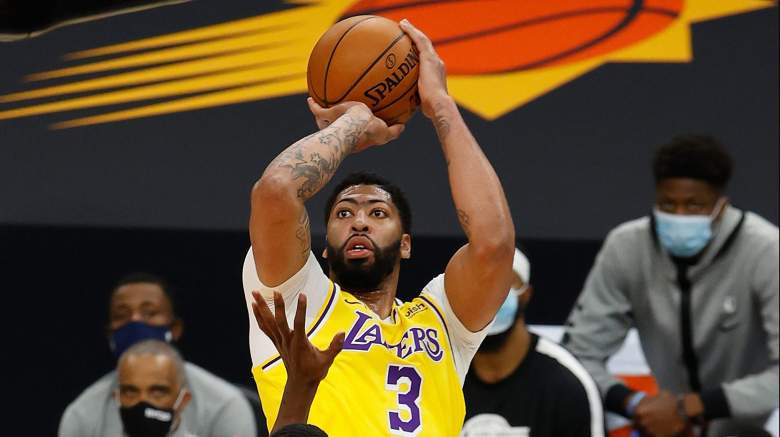 Anthony Davis, Lakers shooter
