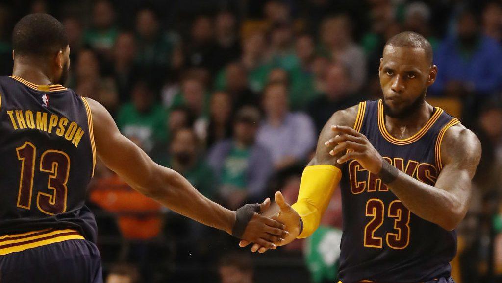 Tristan Thompson Vows To Bring 'LeBron Wisdom' To Celtics