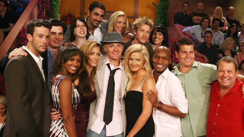 "The complete cast pose at ""Big Brother 7: All-Stars"""