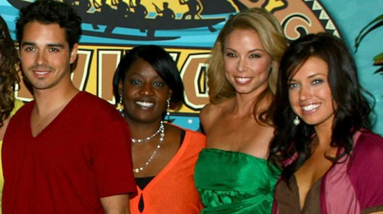 Survivor contestants Ozzy Lusth, Cirie Fields, Natalie Bolton, and Parvati Shallow attend the Survivor: Micronesia Finale and Reunion Show