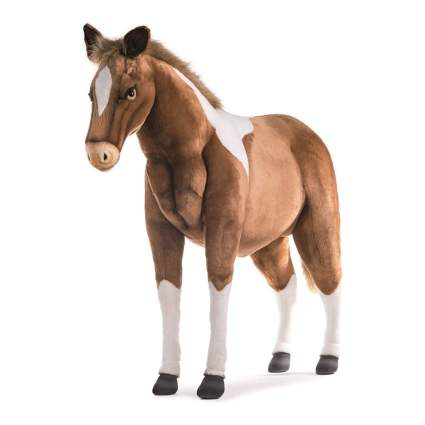 Realistic plush pony