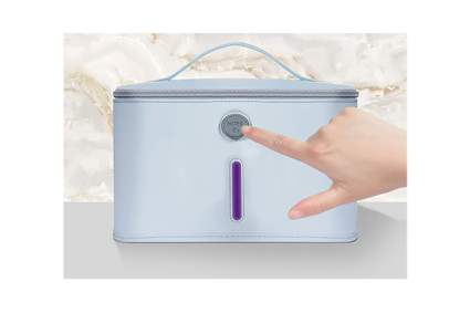 UV light sanitizing bag