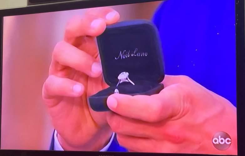 Tayshia Adams Engagement Ring
