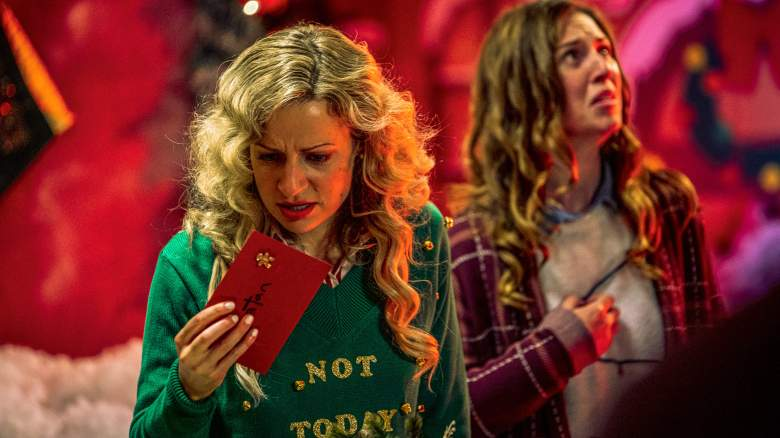Karen Knox stars as Holly Frost in 'Letters to Satan Claus'