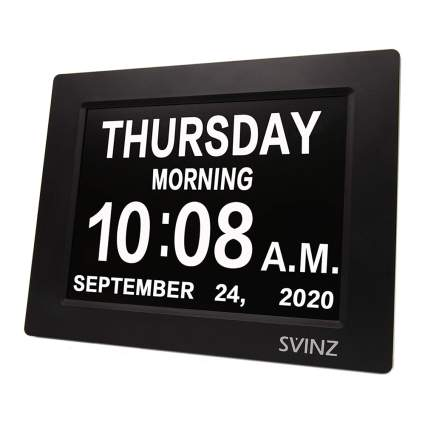 large print digital clock