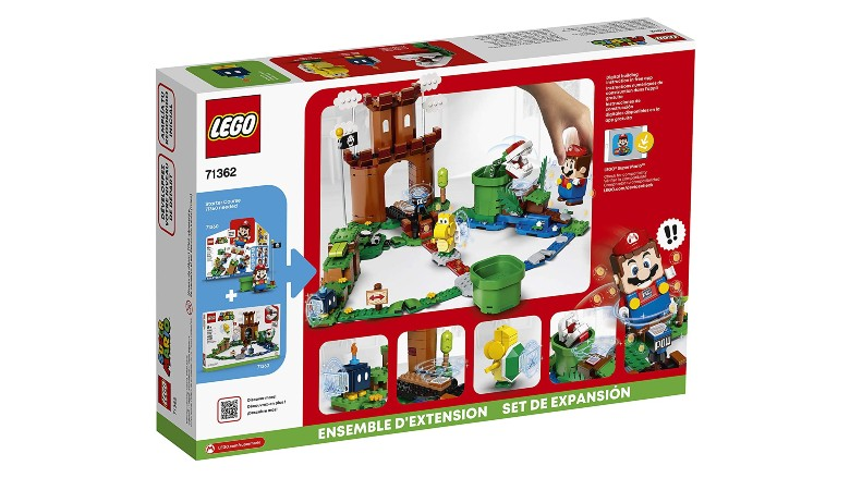 Lego Super Mario Guarded Fortress Expansion