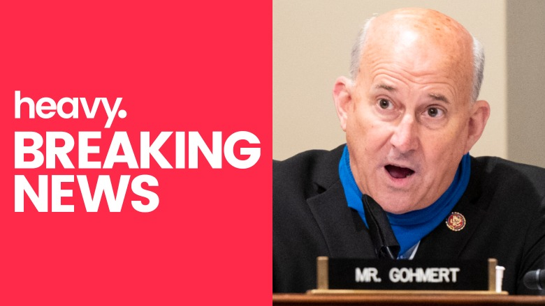 Louis Gohmert tooth falls out