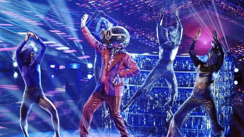 The Masked Dancer Disco Ball