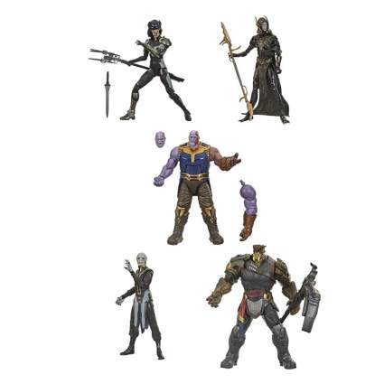 Marvel Legends The Children of Thanos 5-Pack