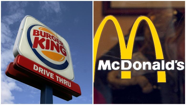 McDonalds Burger King Christmas