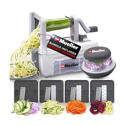 vegetable spiralizer and chopper