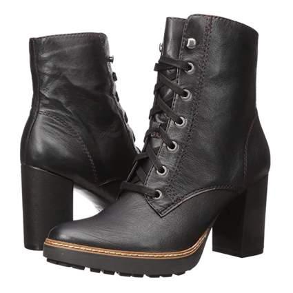 black women's calf booties