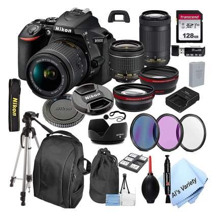 Nikon DSLR camera kit