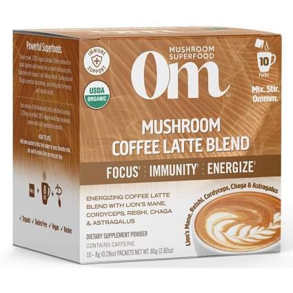 Om Mushroom latte mix