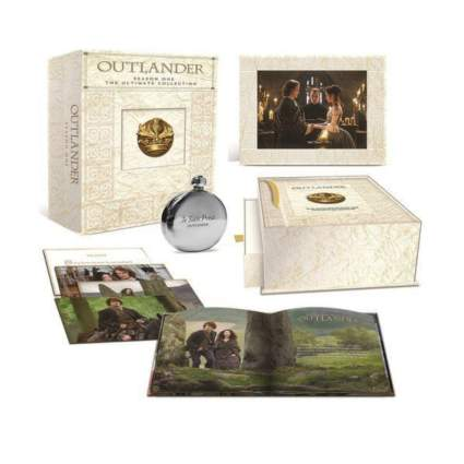 outlander season one on blu-ray