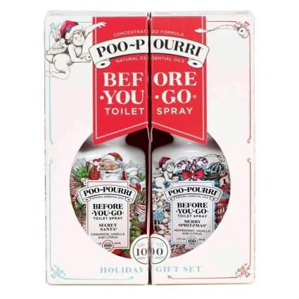 poo-pourri holiday toilet spray