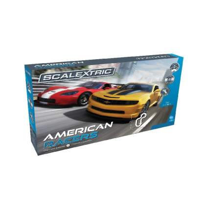 Scalextric American Racers 1:32 Slot Car Race Track