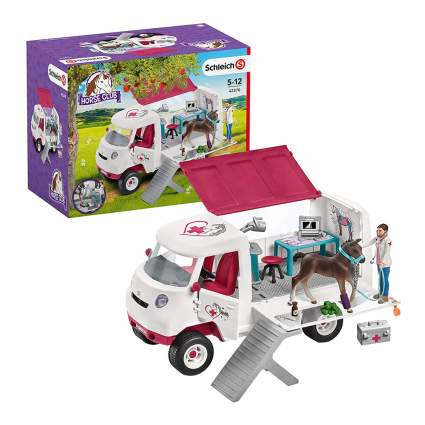 Mobile horse vet toy set