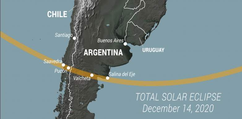 Total Solar Eclipse Path