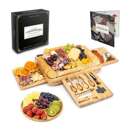 Smirly Wine & Cheese Board