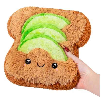 Avocado toast stuffed animal