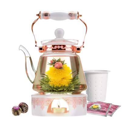 blooming tea set