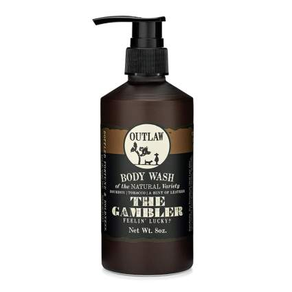 leather scented body wash