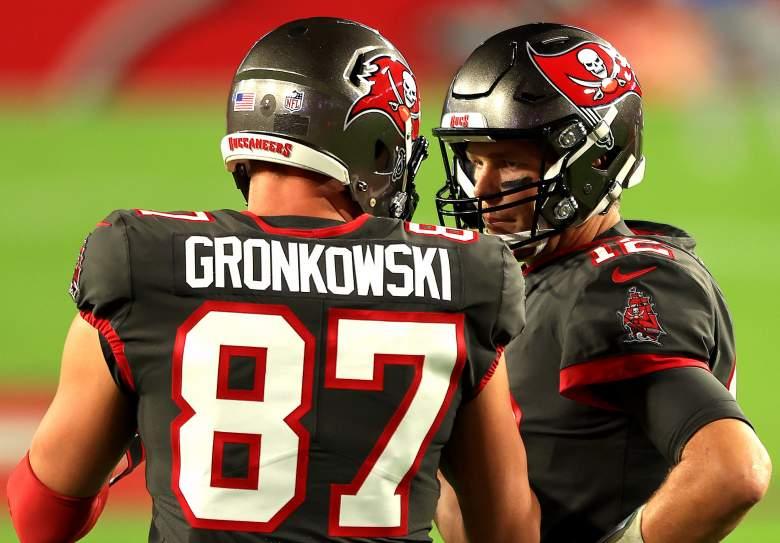 Tom Brady & Rob Gronkowski