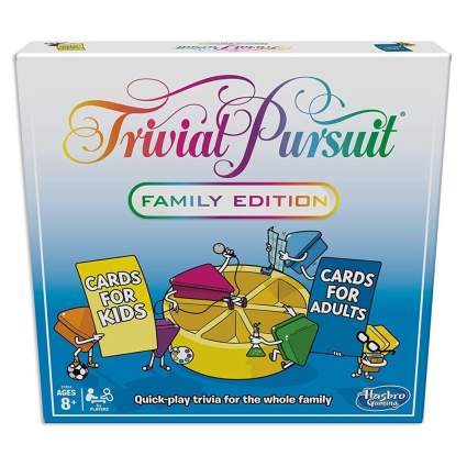 trivial pursuit family board game