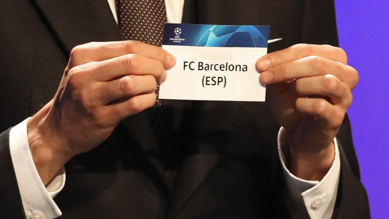 UCL draw Barcelona