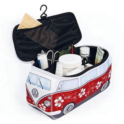 VW bus toiletry bag