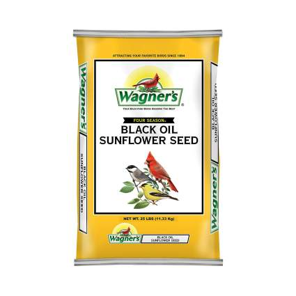 Wagner's Black Oil Sunflower Seed Wild Bird Food