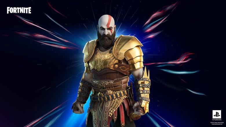 armored kratos style fortnite