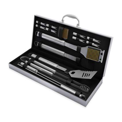 bbq tool set in case