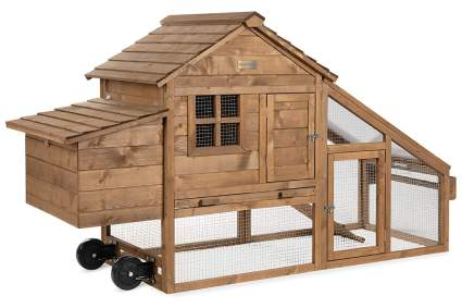 Best Choice Products 70-Inch Mobile Chicken Coop