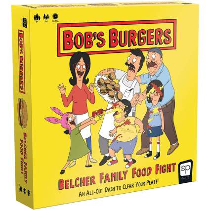 Bob's Burgers Family Food Fight Game