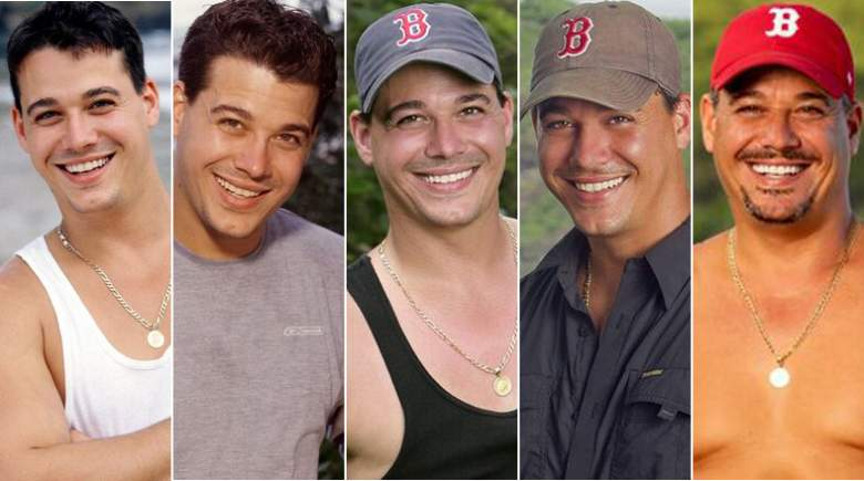 Boston Rob on Survivor over the years