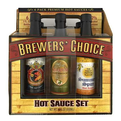 Brewers' Choice Hot Sauce 6-Pack