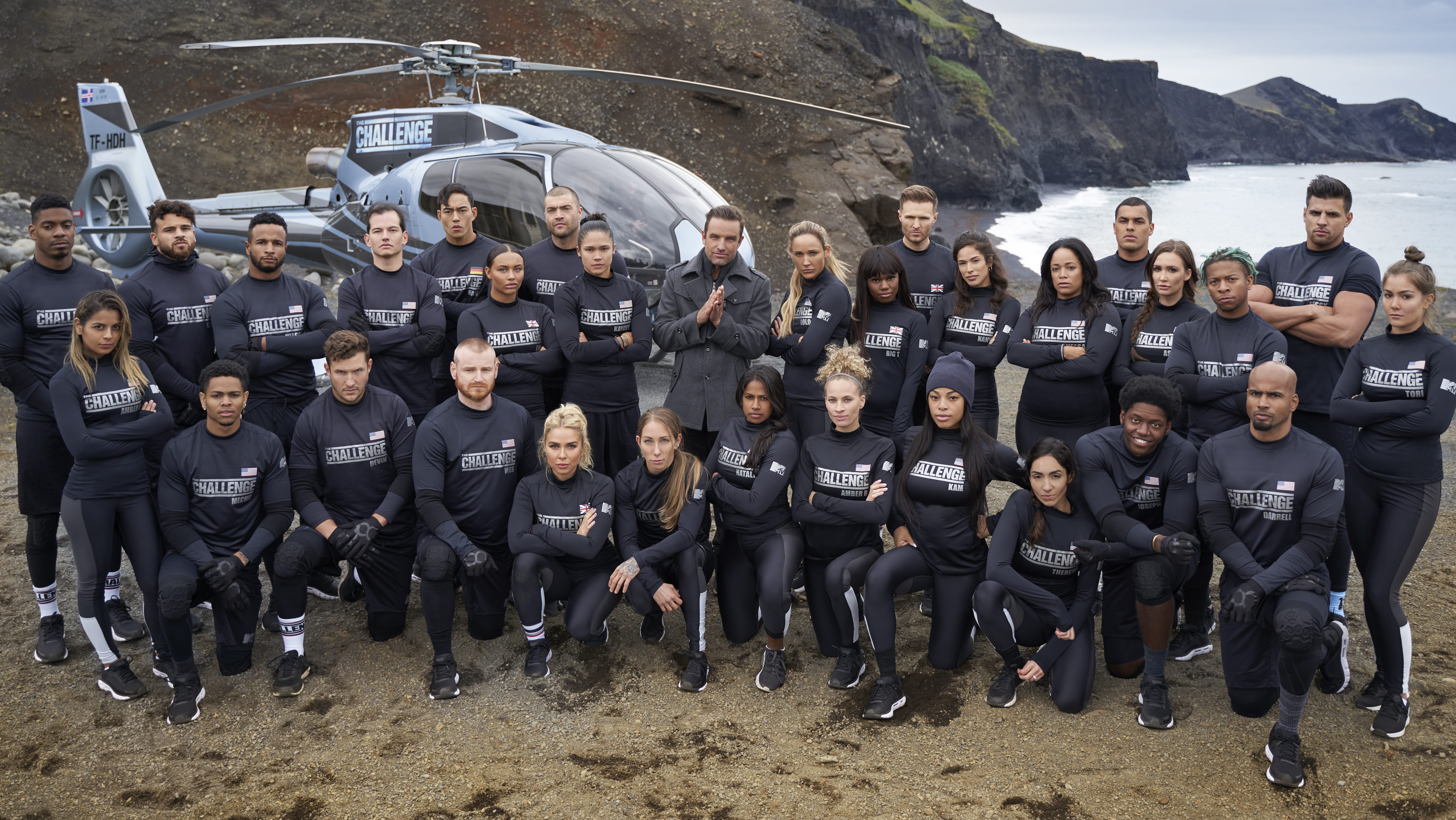 The cast of The Challenge: Double Agents
