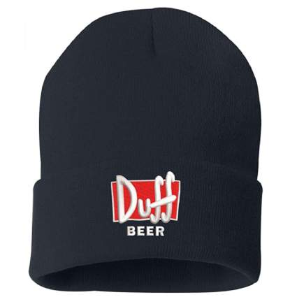 Duff Beer Embroidered Winter Toque