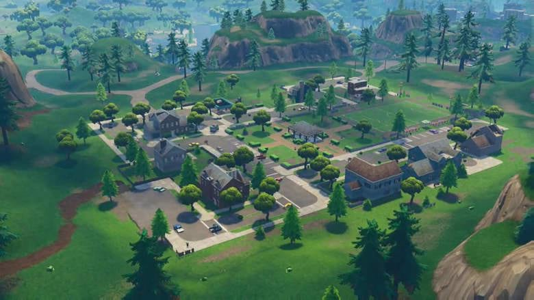 fortnite clue pleasants park holly hedges lazy lake