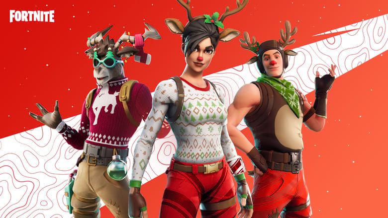 fortnite pay to win winterfest skins