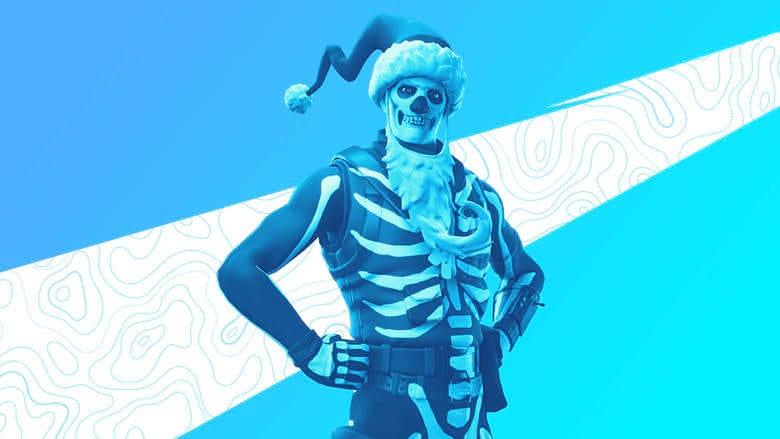 fortnite skull claus spray free